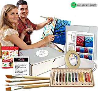Date Night Box- Our Paint Night is Designed for 2 People to Enjoy a Special Paint Night Date at Home. This is a Creative Date Night for Couples and is Ready to Open and Enjoy.