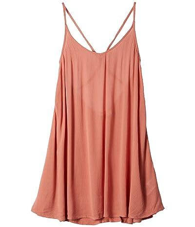 Roxy Be in Love Cover-Up Dress (Tawny Orange) Women