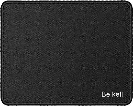 Mauspad, Beikell Gaming Mauspad Matte- Speziell Reibungslos Weich mit Genähte Kanten und Rutschfester Gummi-Basis für PC, Laptop usw.