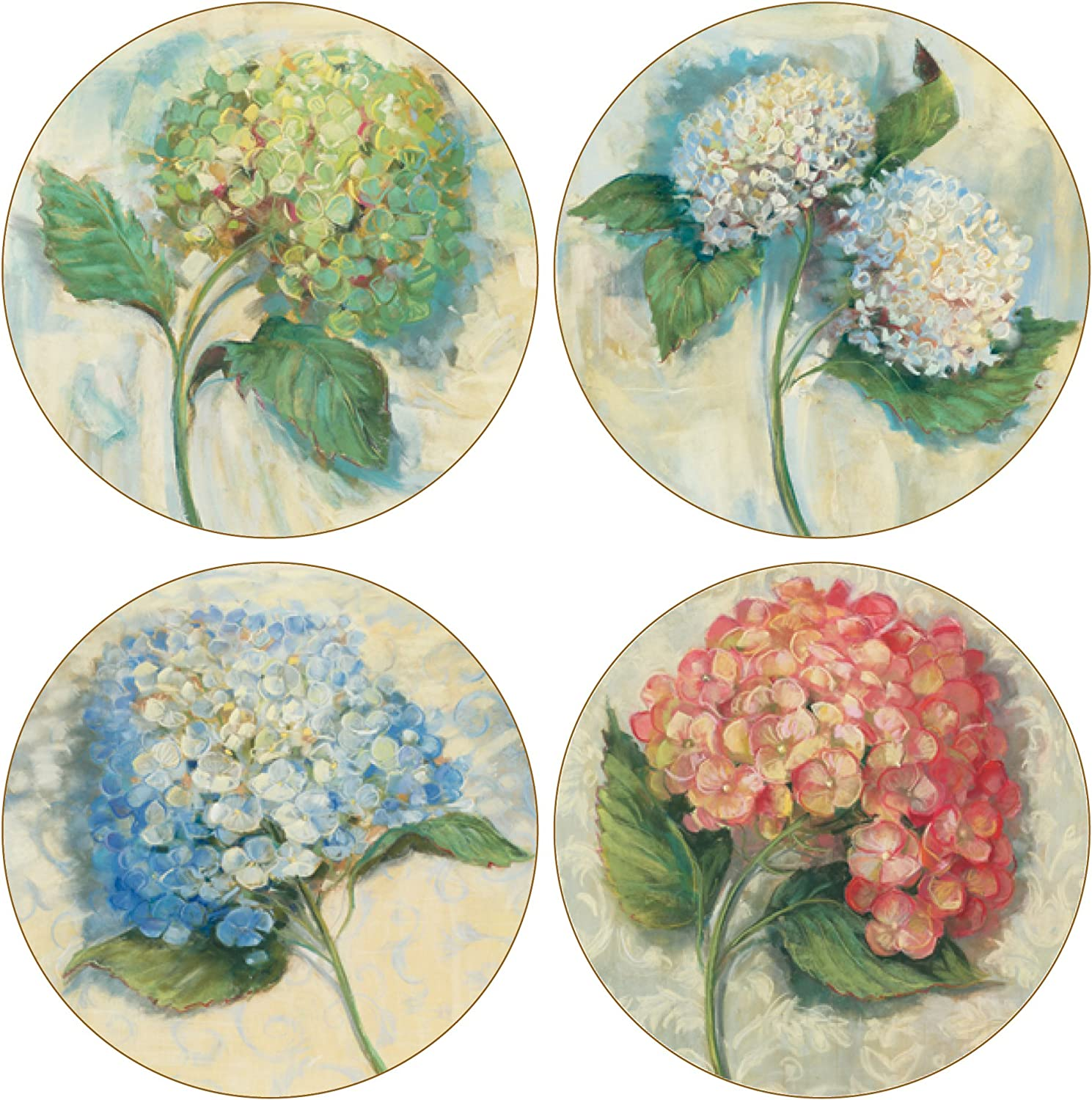 Product CoasterStone Hydrangeas Absorbent Long-awaited Coasters 4-1 4-Inch of 4 Set
