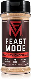 NEW! Death By Chocolate - Feast Mode Flavors - Low Sodium , No MSG , Gluten Free , All Natural , Meal Prep Seasoning , Coc...