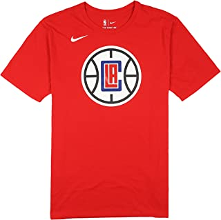 Nike Men's Los Angeles Clippers Team Logo T-Shirt Large Red
