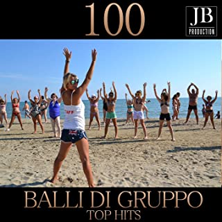 100 Balli di Gruppo Top Hits Medley: Sirtaki / Timber / Aprovecha / Mi Vida No Va a Cambiar / Un Party / Vuelve / Loba / Ymca / We Are Family / Now That We'Ve Found Love / You Sexy Thing / I Only Want To Be With You / You'Re The One That I Want / Jive Ta