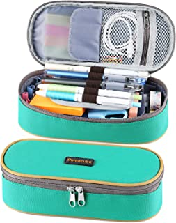Homecube Pencil Case Big Capacity Pencil Bag Makeup Pen Pouch Durable Students Stationery..