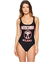 Moschino - Motocross Logo Swimsuit