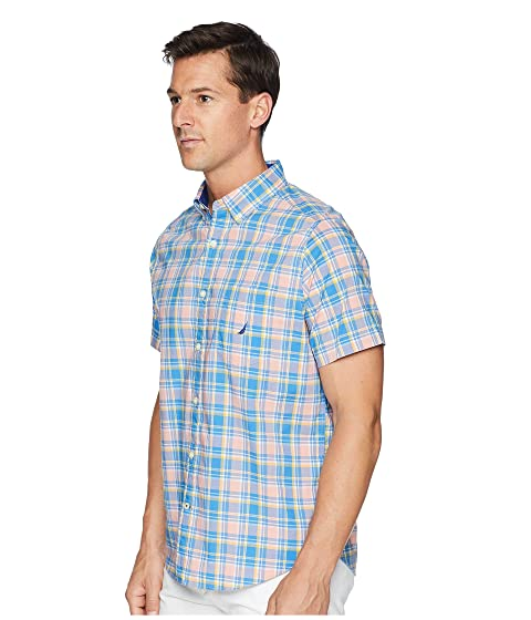 a Arenas Stretch coral Nautica Water Camisa Break cuadros mediana v0aZqIw