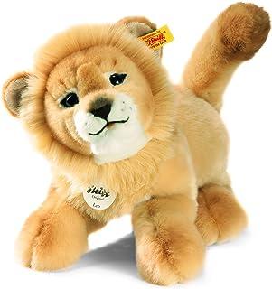 Steiff Leo Baby Dangling Lion Plush, Blond