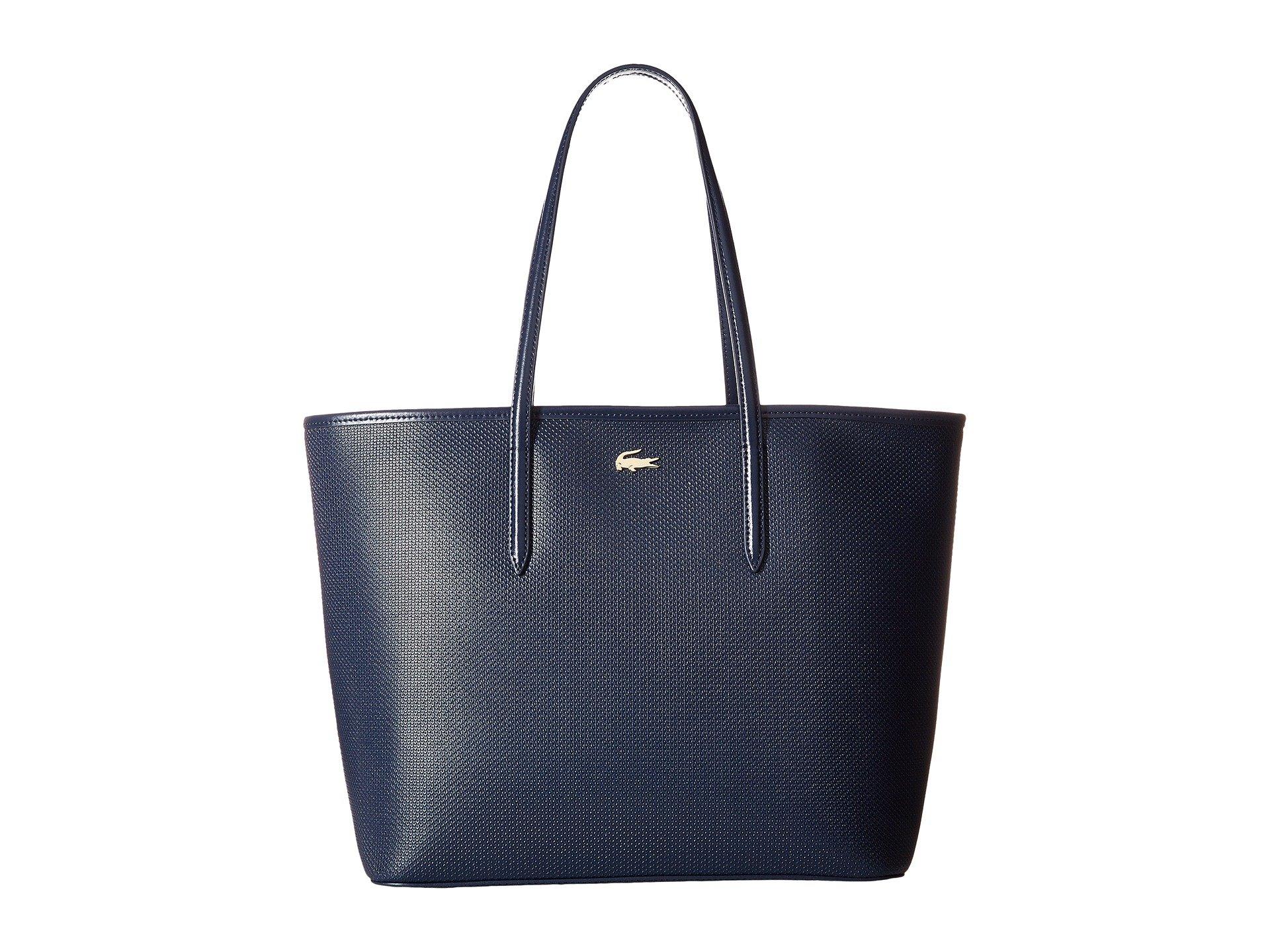Bolso de Mano para Mujer Lacoste Chantaco Zip Shopping Bag  + Lacoste en VeoyCompro.net