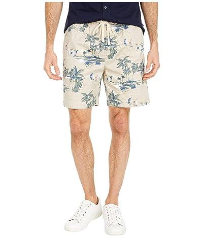 Nautica All Over Shorts (White) Men