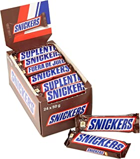 Snickers Chocolate Bar, 50g x 24