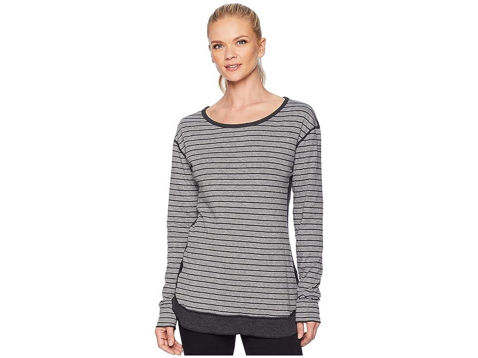 Columbia Winter Adventuretm Long Sleeve Tee (Light Grey Stripe) Women