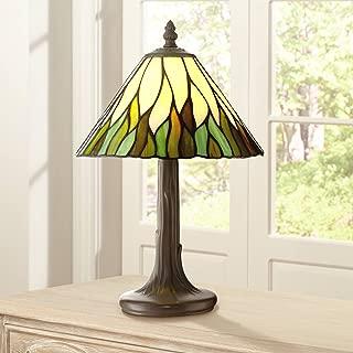 Foglia Cottage Antique Accent Table Lamp 14 1/2