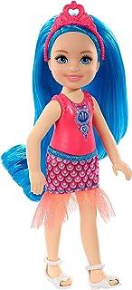 Mattel Barbie: Dreamtopia - Chelsea With Blue Hair (13 cm) (GJJ94)