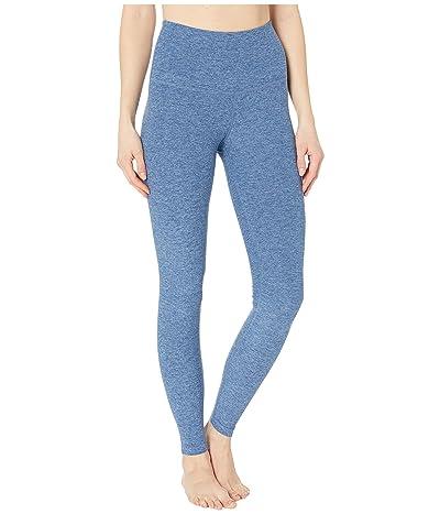 Beyond Yoga Spacedye High Waisted Long Leggings (Serene Blue/Hazy Blue) Women