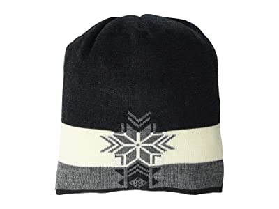 Dale of Norway Geilolia Hat (Dark Charcoal/Smoke/Off-White) Beanies