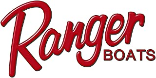 Ranger Boats RED Logo Decal 7.5x16