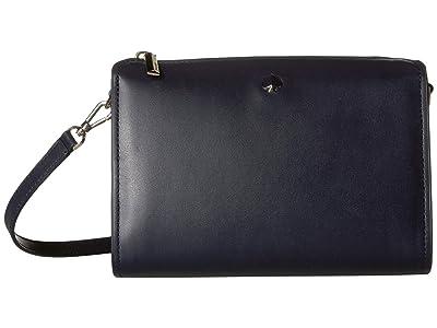 Kate Spade New York Andi Medium Crossbody (Blazer Blue) Handbags