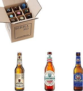 Caja con las mejores cervezas sin alcohol de mundo. Caja con