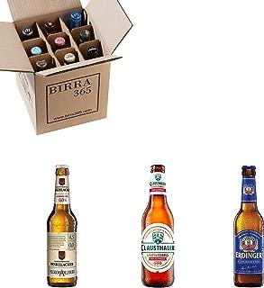 Caja con las mejores cervezas sin alcohol de mundo. Caja con 9 cervezas para disfrutar también con cervezas sin alcohol.