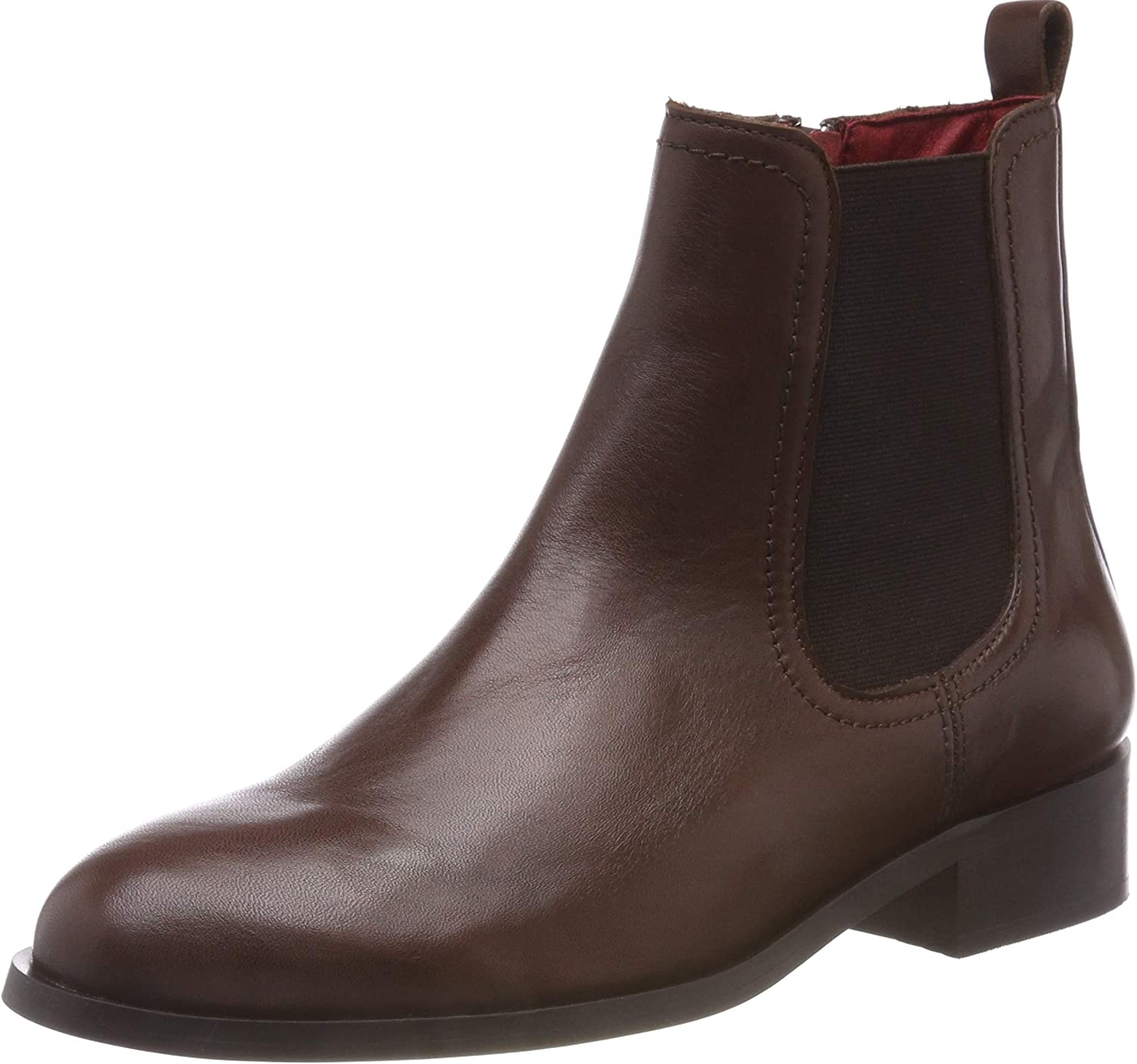 Buffalo Damen Almond Sauvage Leather Chelsea Stiefel