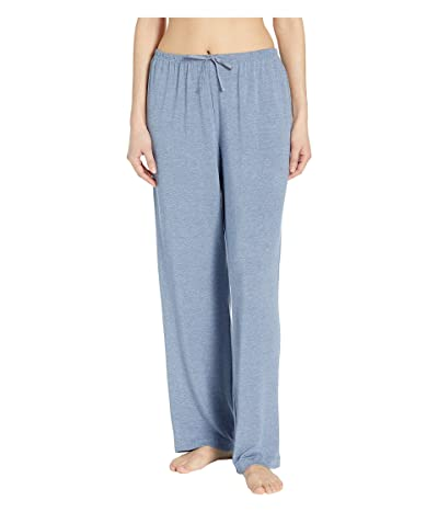 Donna Karan Long Pants (Blue Heather) Women