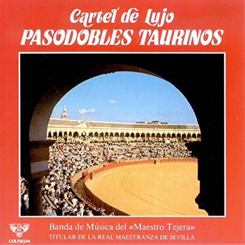 Cartel de Lujo Pasodobles Taurinos de Banda de Musica del ...