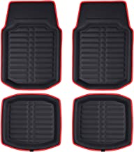 FH Group F14409- PU Leather Deep Tray Floor Mats