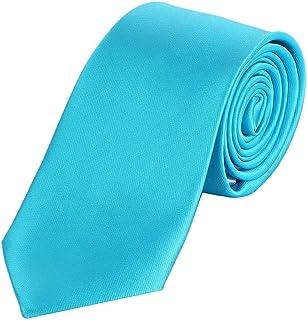 DonDon Cravatta uomo 7 cm classica fatta a mano per il lavoro o occasioni speciali