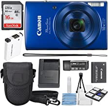 Canon PowerShot ELPH 190 is Digital Camera (Blue) with...