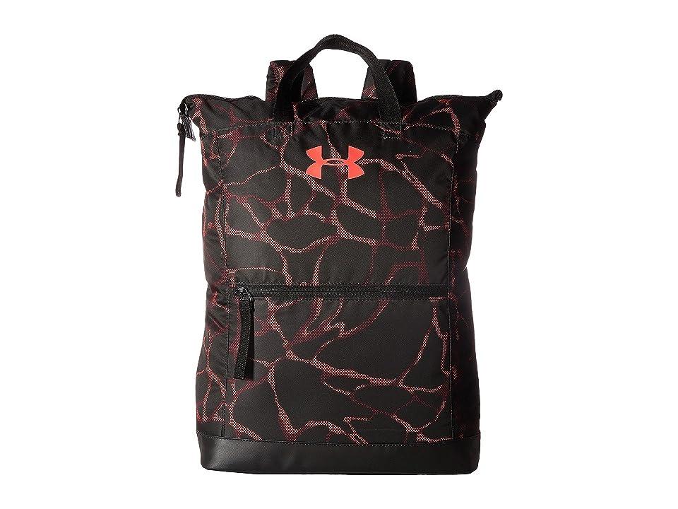 Under Armour UA Multi-Tasker Backpack (Black/Marathon Red/Camo Mesh) Backpack Bags