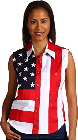 Sleeveless Patriot Shirt