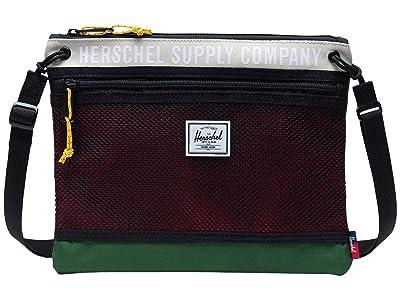 Herschel Supply Co. Alder (Pelican/Eden/Red) Handbags