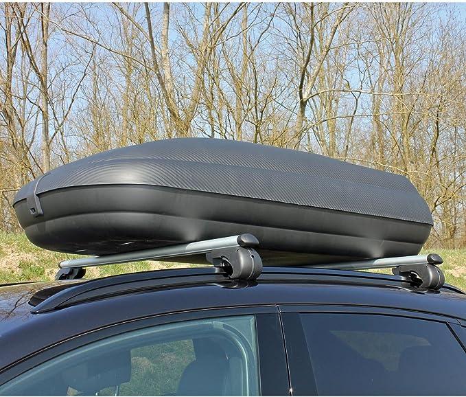 Touring VDP Dachbox VDPJUXT600 600Ltr abschlie/ßbar 5 T/ürer Dachtr/äger//Relingtr/äger KING1 kompatibel mit BMW Serie 5 ab 17 G31