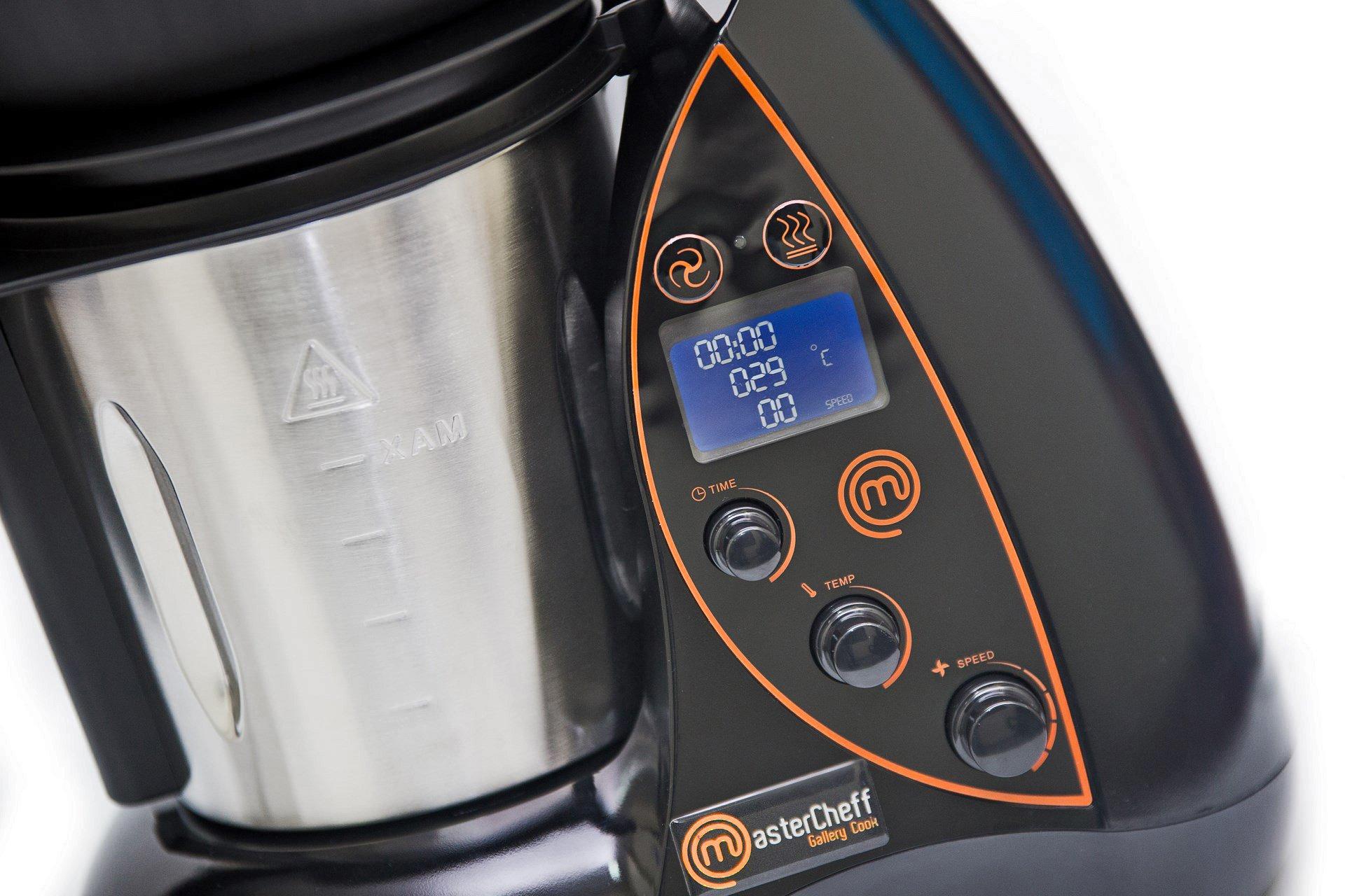 Masterchef Mastermix Evolution. Robot de Cocina Multifunción que Cocina y Tritura.: Amazon.es: Hogar