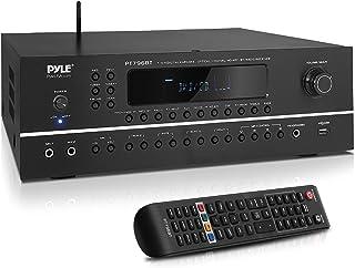 Pyle 7.1-Channel Hi-Fi Bluetooth Stereo Amplifier - 2000 Watt AV Home Theater Speaker Subwoofer Surround Sound Receiver w/...