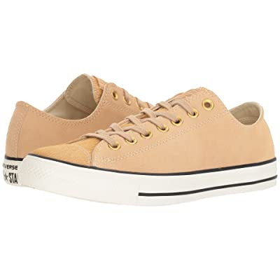 Converse Chuck Taylor All Star Ox Classic (Light Fawn/Black/Egret) Lace up casual Shoes