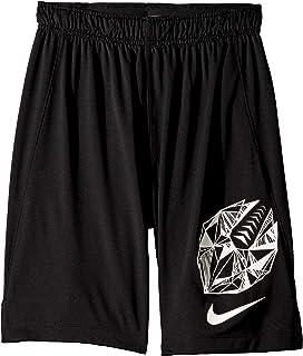 Nike Pro Boy`s Flag Football Shorts (Black, Small)