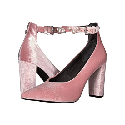 Sol Sana Isla Heel (Dusty Rose Velvet Pearl) High Heels