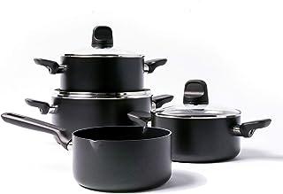 4 Piezas Urbn Chef cerámica inducción Sartenes Ollas