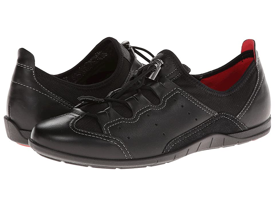 ECCO Bluma Toggle (Black/Black Feather/Textile) Women
