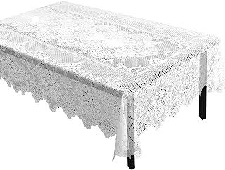 Encaje Mantel–mantel rectangular con elegante