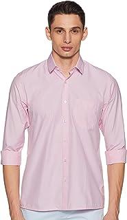 Peter England Men's Regular fit Casual Shirt