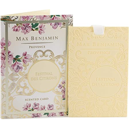 Max Benjamin Car Fragrance With Refill French Linen Water A Küche Haushalt