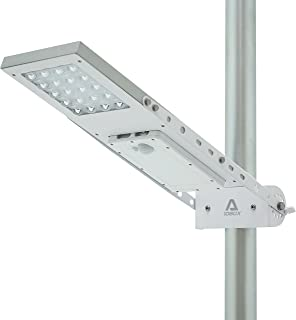 ALPHA 1080X Street Light , 3-Mode Setting, Lithium Battery, Adjustable Mounting Bracket for Optimum Sunlight Exposure, Fit Max Pole Diameter 3