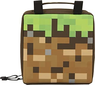 Minecraft Childrens/Kids Dirt Block Lunch Bag