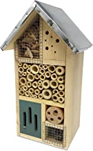 "Lantern Hill Multi-Chambered Insect House, Designed Especially for Your Favorite Garden Friends, 7.3"" x 6"" x 12.5"""