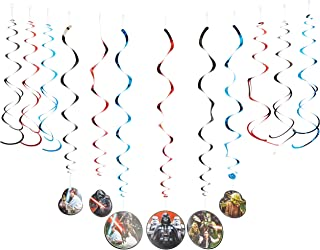 Star Wars Classic Value Pack Foil Swirl Decorations, Party Favor