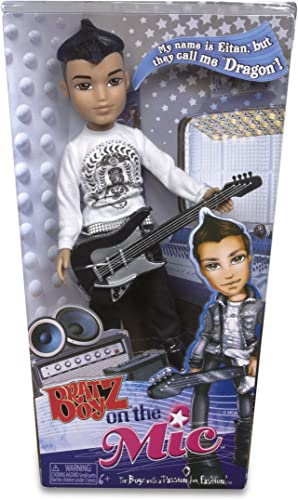 Bratz Boyz - EITAN - they call me  DRAGON  - Bratz Boyz on the Mic - ca 24 cm - MGA