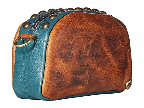 Marrón azulado Crossbody Verde Leatherock Cami FxO0Pzw4q