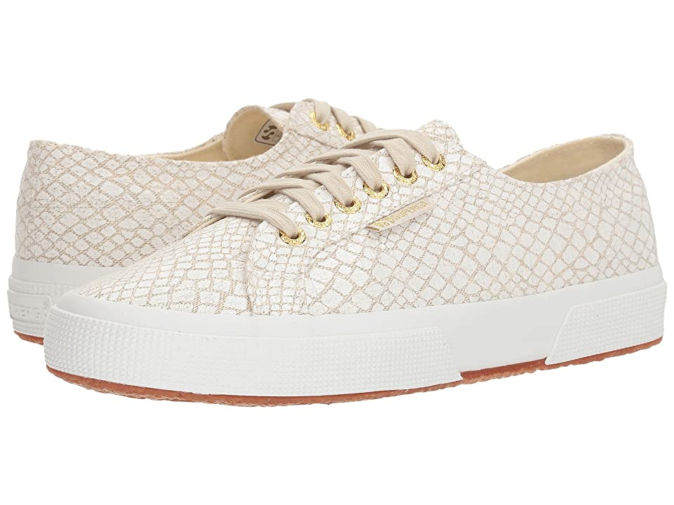 Superga 2750 Fantasycotlinenw Sneaker (White Multi) Women